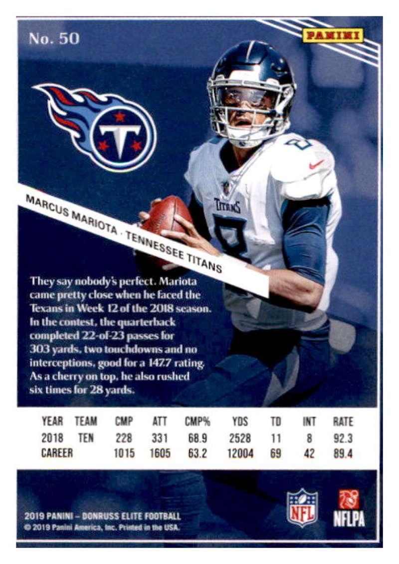 2019-Donruss-Elite-NFL-Panini-Football-Singles-Pick-Your-Cards-Lot-Finish-Set thumbnail 101