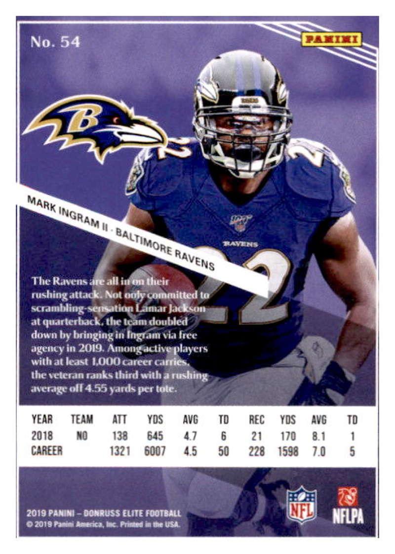 2019-Donruss-Elite-NFL-Panini-Football-Singles-Pick-Your-Cards-Lot-Finish-Set thumbnail 109