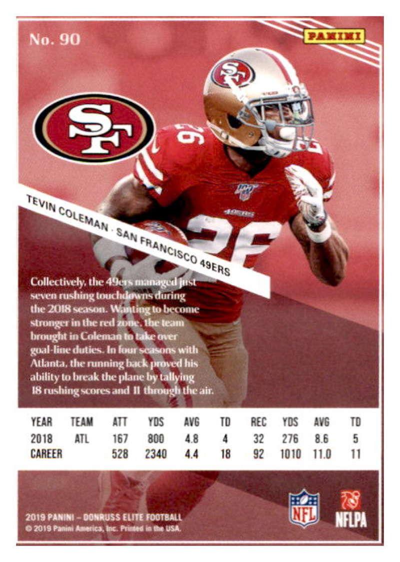 2019-Donruss-Elite-NFL-Panini-Football-Singles-Pick-Your-Cards-Lot-Finish-Set thumbnail 181