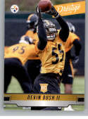 2019 Prestige NFL #205 Devin Bush II RC Rookie Card Pittsburgh Steelers Official Panini Football Trading Card