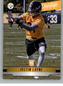 2019 Prestige NFL #276 Justin Layne RC Rookie Card Pittsburgh Steelers Official Panini Football Trading Card