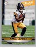 2019 Prestige NFL #298 Diontae Johnson RC Rookie Card Pittsburgh Steelers Official Panini Football Trading Card