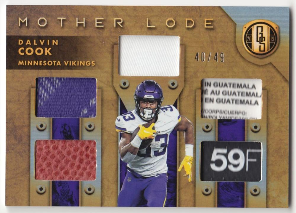 2019 Panini Gold Standard Mother Lode Prime