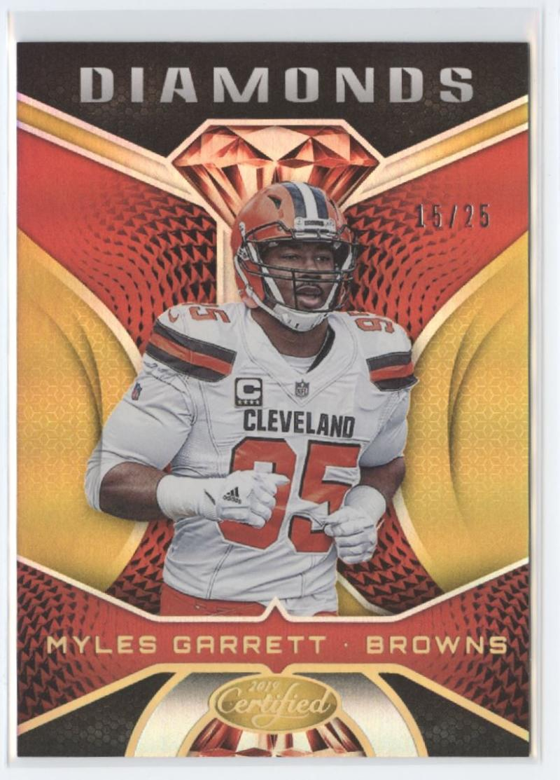 2019 Panini Certified Diamonds Mirror Gold
