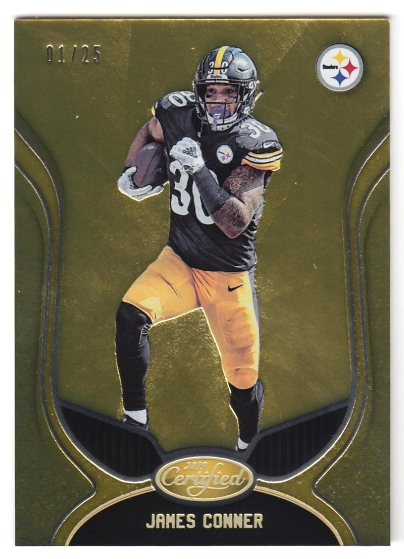 2019 Panini Certified Mirror Gold Etch