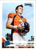 2019 Donruss Football #303 Drew Lock RC Rookie Denver Broncos RR  Official Panini NFL Trading Card