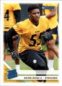 2019 Donruss #344 Devin Bush II RR NM-MT+ RC Pittsburgh Steelers