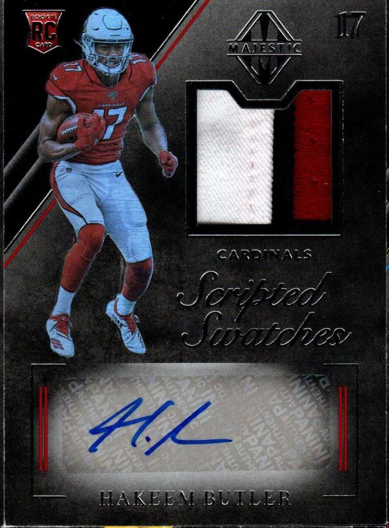 2019 Panini Majestic Rookie Scripted Swatches