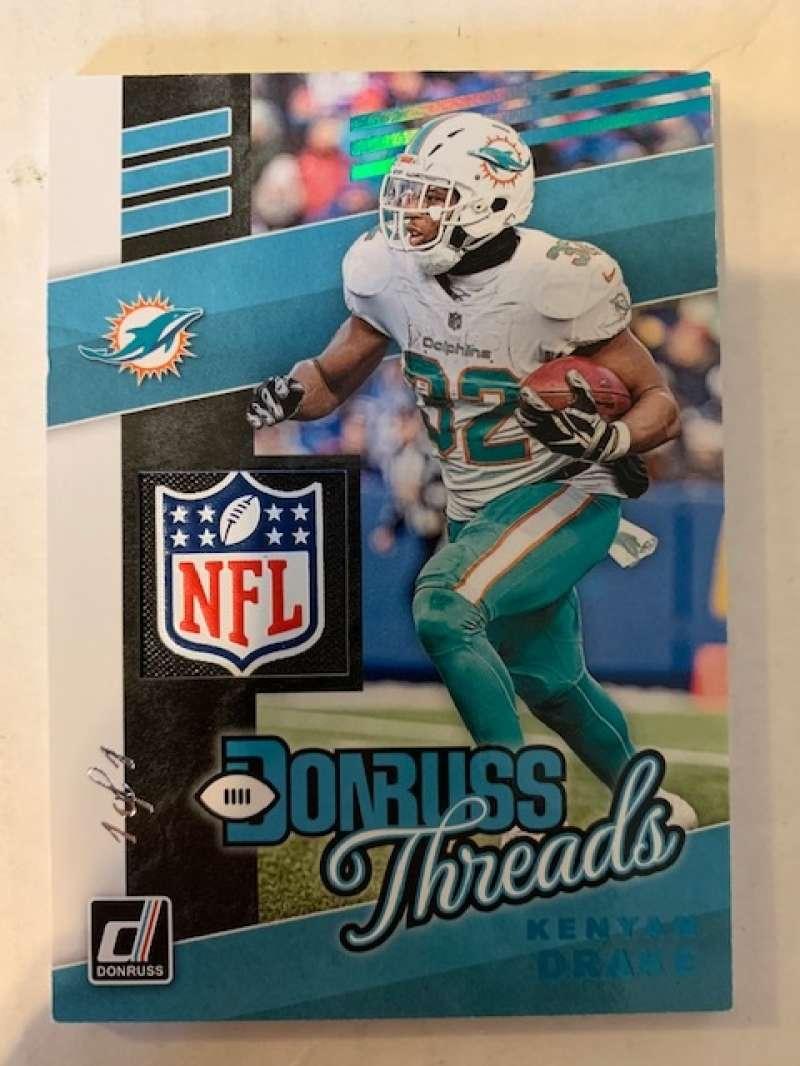 2019 Donruss  Donruss Threads Laundry Tag NFL Shield