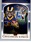 2019 Donruss Football Gridiron Kings GK-10 Todd Gurley II Los Angeles Rams  Official NFL Trading Card by Panini
