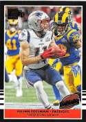 2019 Donruss Football Highlights #13 Julian Edelman New England Patriots Official NFL Panini Trading Card