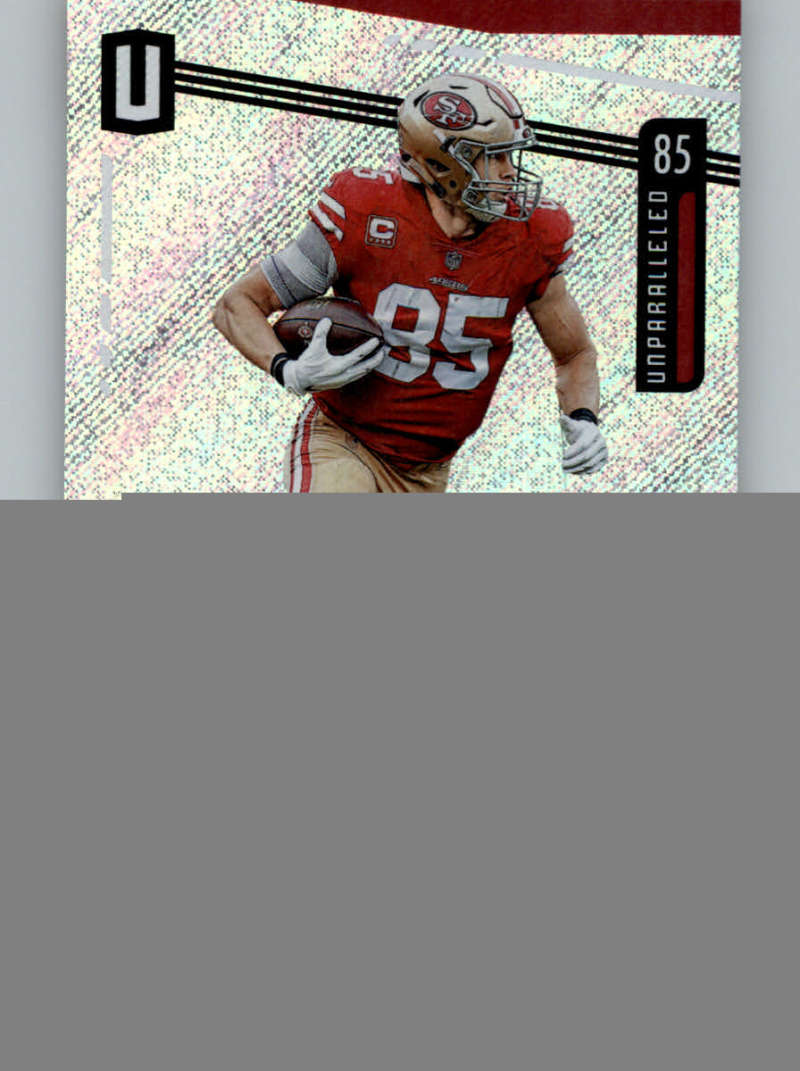 2019 Unparalleled Football #160 George Kittle San Francisco 49ers Official NFL Panini Trading Card