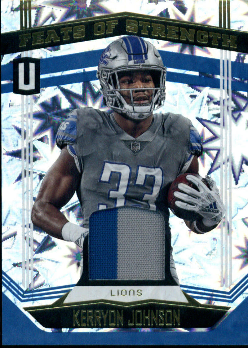 2019 Panini Unparalleled Feats of Strength Impact