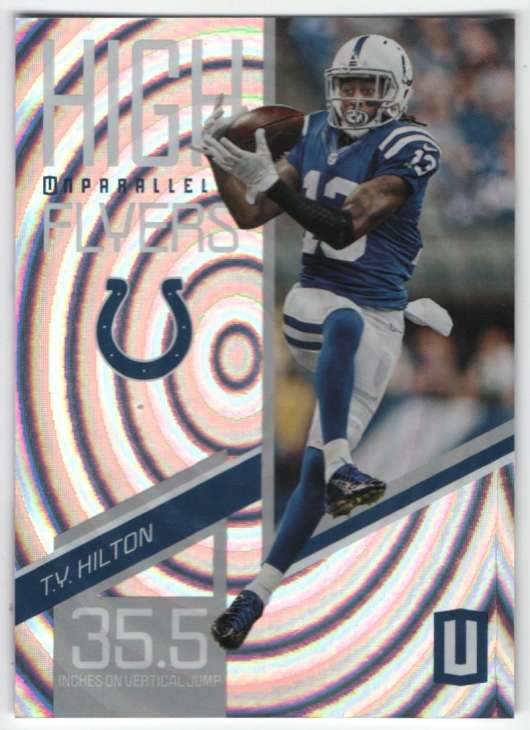2019 Panini Unparalleled High Flyers Whirl