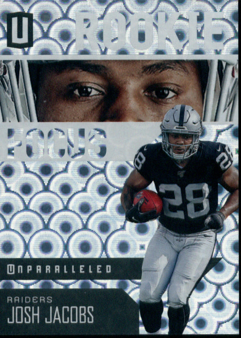 2019 Panini Unparalleled Rookie Focus Groove