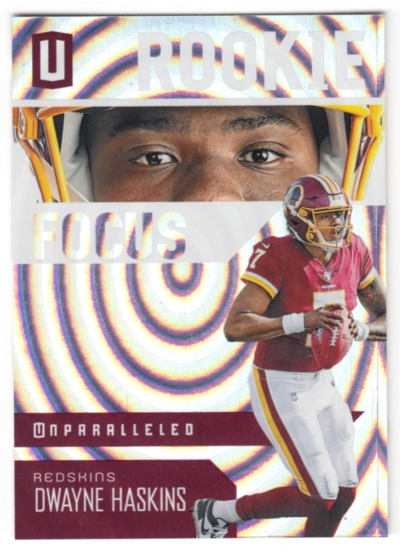 2019 Panini Unparalleled Rookie Focus Whirl