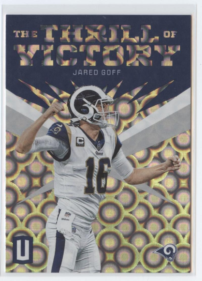 2019 Panini Unparalleled The Thrill of Victory Groove