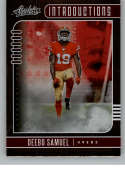 2019 Absolute NFL Introductions #6 Deebo Samuel San Francisco 49ers Official Panini Football RC Rookie Card from Retail
