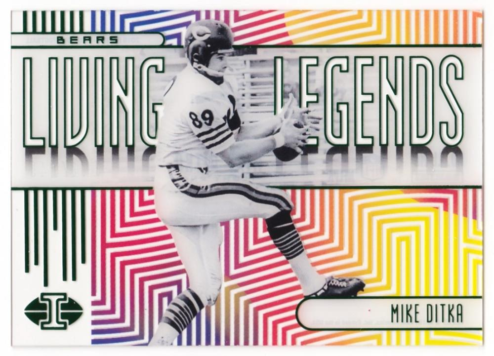 2019 Panini Illusions Living Legends Green