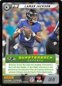 2019 Panini NFL Five Football #C4-19 Lamar Jackson  Baltimore Ravens Official Panini TCG Trading Game Collectible Card