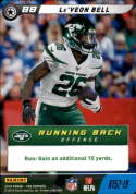 2019 Panini NFL Five Football #R152-19 Le'Veon Bell  New York Jets Official Panini TCG Trading Game Collectible Card