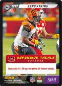 2019 Panini NFL Five Football #E164-19 Geno Atkins  Cincinnati Bengals Official Panini TCG Trading Game Collectible Card