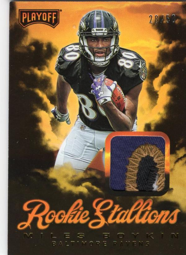 2019 Panini Playoff Rookie Stallions Prime
