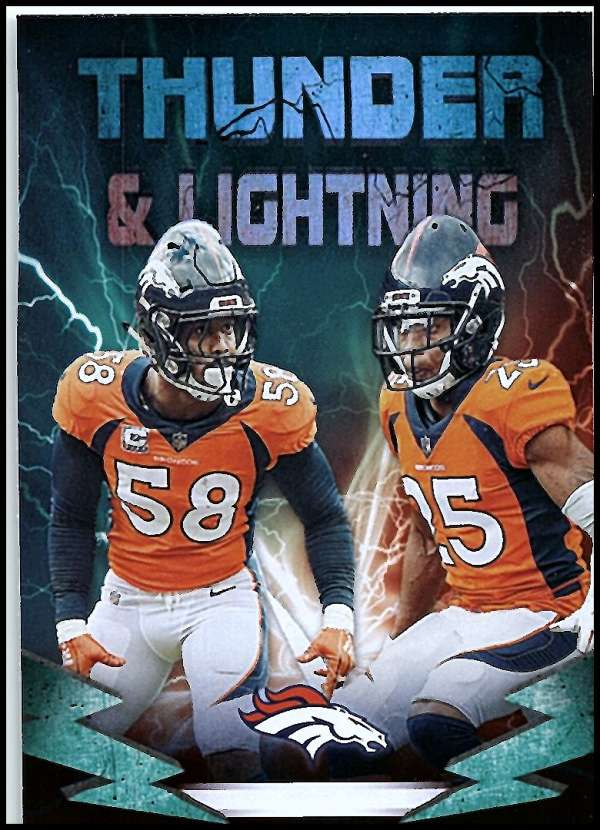 2019 Panini Playoff Thunder and Lightning