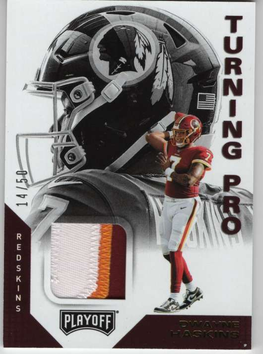 2019 Panini Playoff Turning Pro Memorabilia
