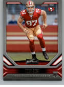 2019 Playbook Football #118 Nick Bosa San Francisco 49ers  RC Rookie Official Panini NFL Trading Card