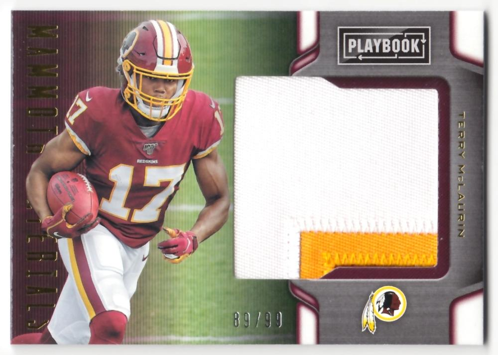 2019 Panini Playbook Mammoth Material Prime