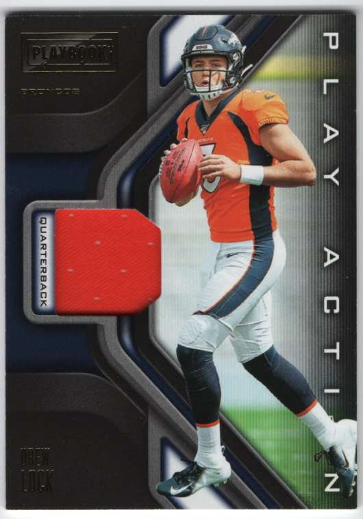 2019 Panini Playbook Play Action Swatches