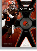 2019 Panini Playbook Xs and Os #1 Baker Mayfield NM-MT