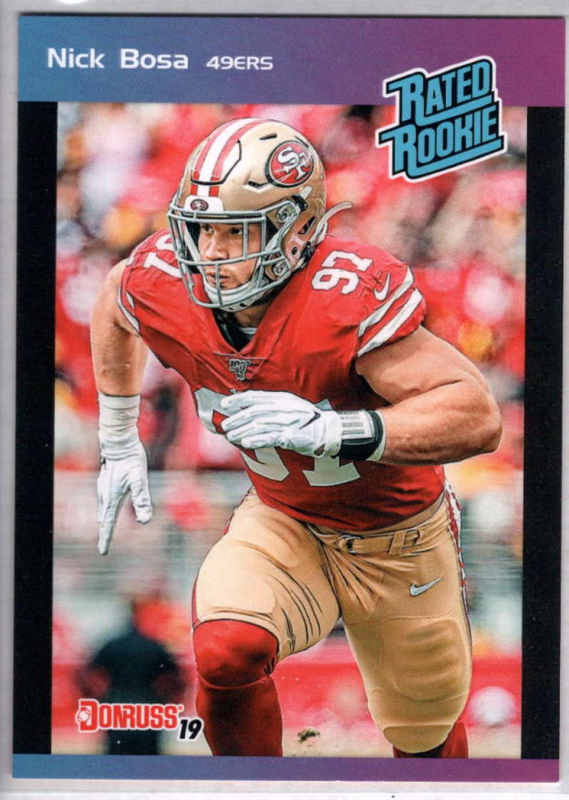 2019 Panini Instant Rated Rookies #2 Nick Bosa  RC Rookie SER/280 San Francisco 49ers