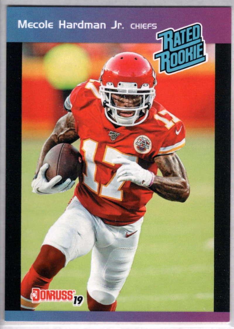 2019 Panini Instant Rated Rookies #15 Mecole Hardman Jr  RC Rookie SER/280 Kansas City Chiefs