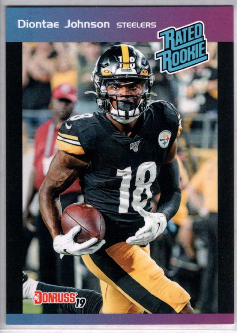2019 Panini Instant Rated Rookies #20 Diontae Johnson  RC Rookie SER/280 Pittsburgh Steelers