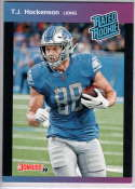 2019 Panini Instant Rated Rookies #4 T.J. Hockenson  RC Rookie SER/280 Detroit Lions