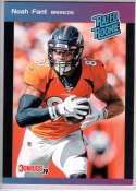 2019 Panini Instant Rated Rookies #6 Noah Fant  RC Rookie SER/280 Denver Broncos