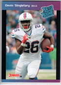 2019 Panini Instant Rated Rookies #23 Devin Singletary  RC Rookie SER/280 Buffalo Bills