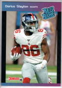 2019 Panini Instant Rated Rookies #40 Darius Slayton  RC Rookie SER/280 New England Patriots