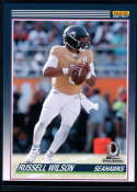 2019 Panini Instant All Pro 1990 Score Football Design #P17 Russell Wilson 1 of 82 Seattle Seahawks  Official NFL Trading Card Very Rare Online Exclus