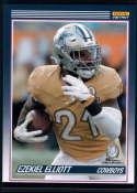 2019 Panini Instant All Pro 1990 Score Football Design #P20 Ezekiel Elliott 1 of 82 Dallas Cowboys  Official NFL Trading Card Very Rare Online Exclusi