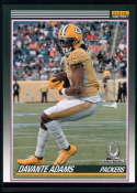 2019 Panini Instant All Pro 1990 Score Football Design #P23 Davante Adams 1 of 82 Green Bay Packers  Official NFL Trading Card Very Rare Online Exclus