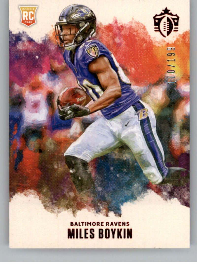 2019 Panini Chronicles Gridiron Kings Red