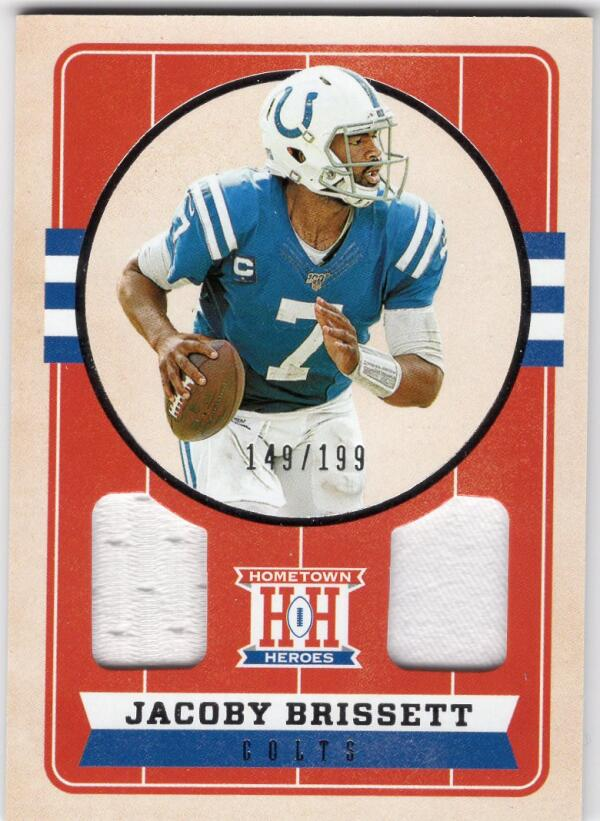 2019 Panini Chronicles Hometown Heroes Dual Jersey