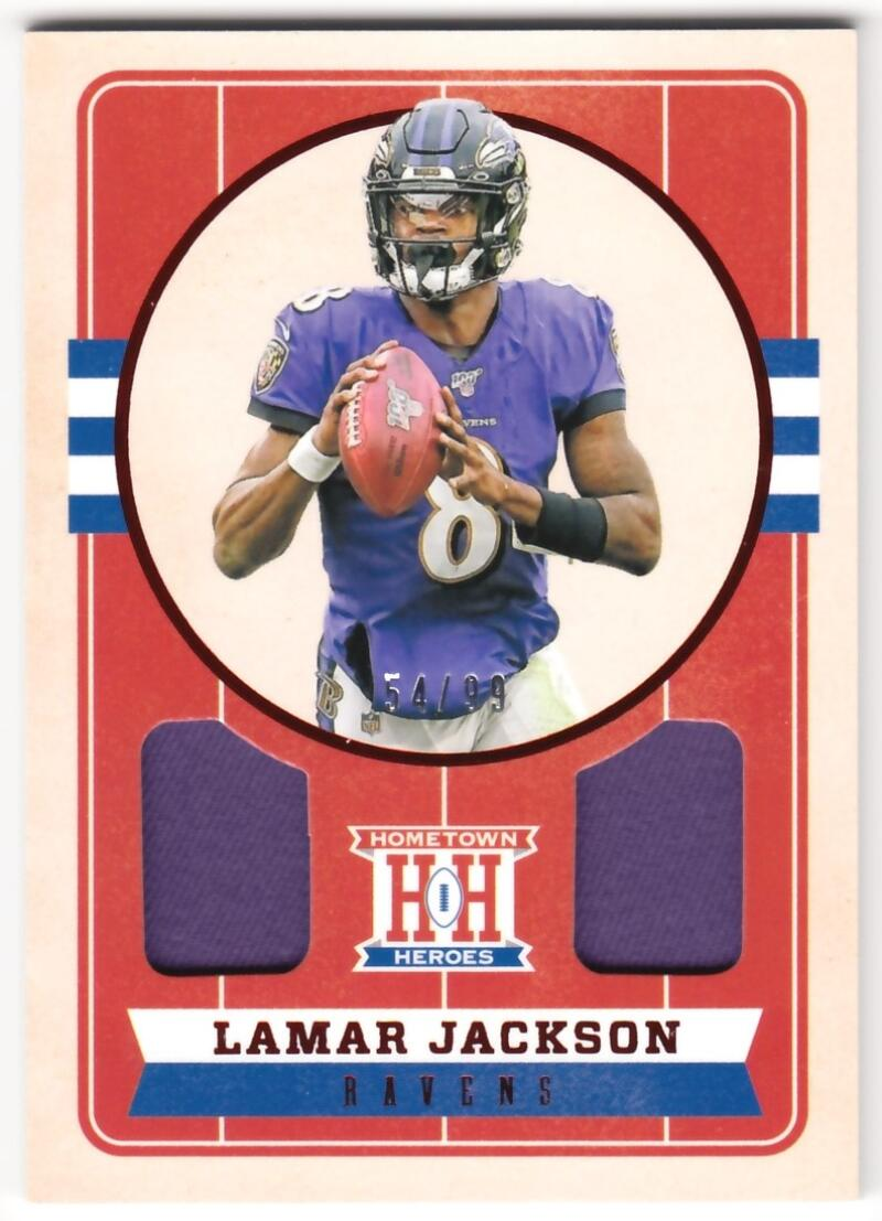 2019 Panini Chronicles Hometown Heroes Dual Jersey Red