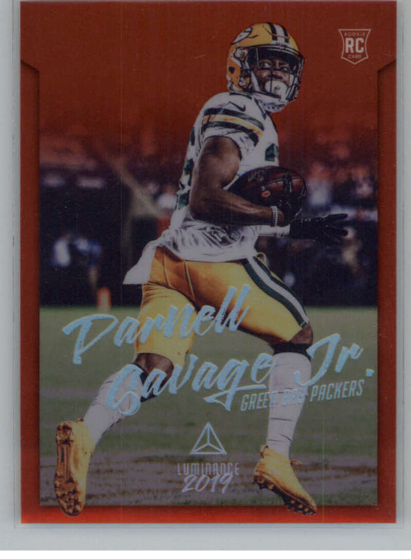 2019 Panini Chronicles Luminance Update Rookies Red