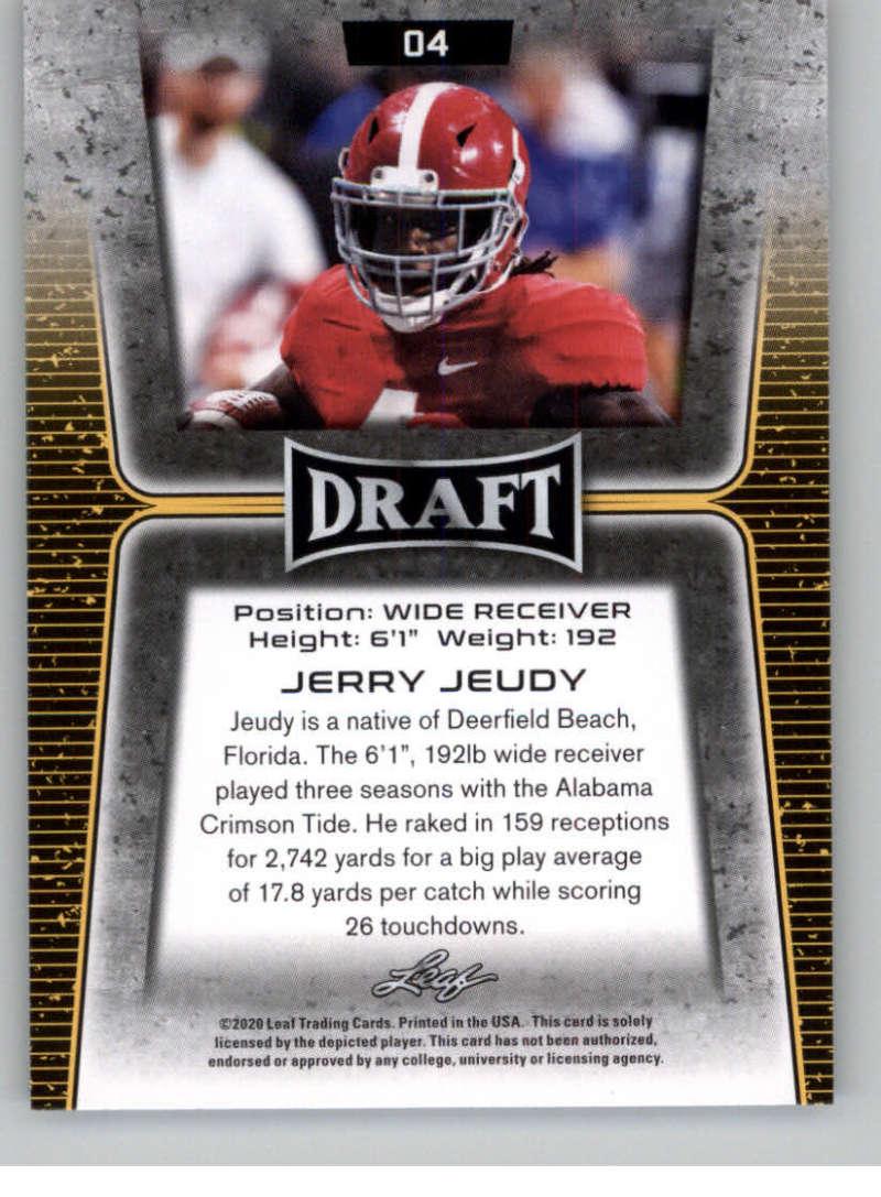 2020 Leaf Draft Football 22 Cam Akers Pre Rookie Trading Card Florida State Seminoles Spauskgaza Lt