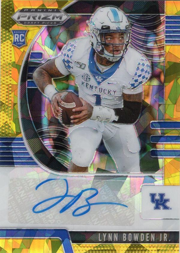 2020 Panini Prizm Draft Picks Prizms Gold Ice Autographs