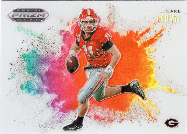 2020 Panini Prizm Draft Picks Color Blast